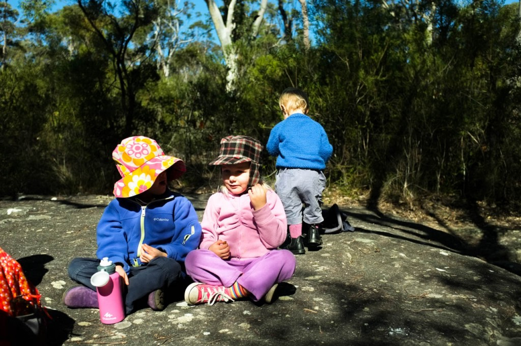 Morning Tea, Kingfisher Pool, Heathcote National Park