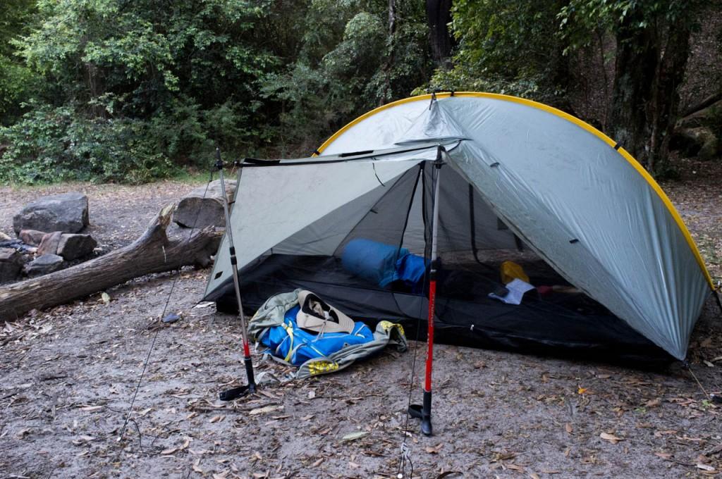 Double rainbow tent