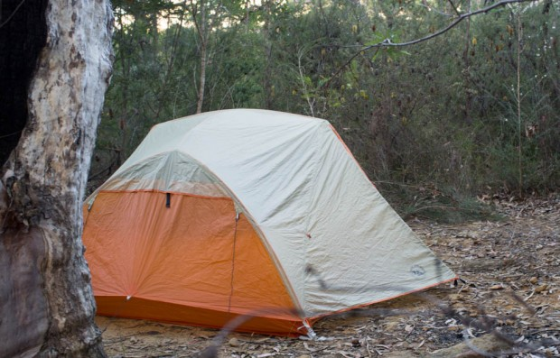 Big Agnes Copper Spur UL3 Tent in action
