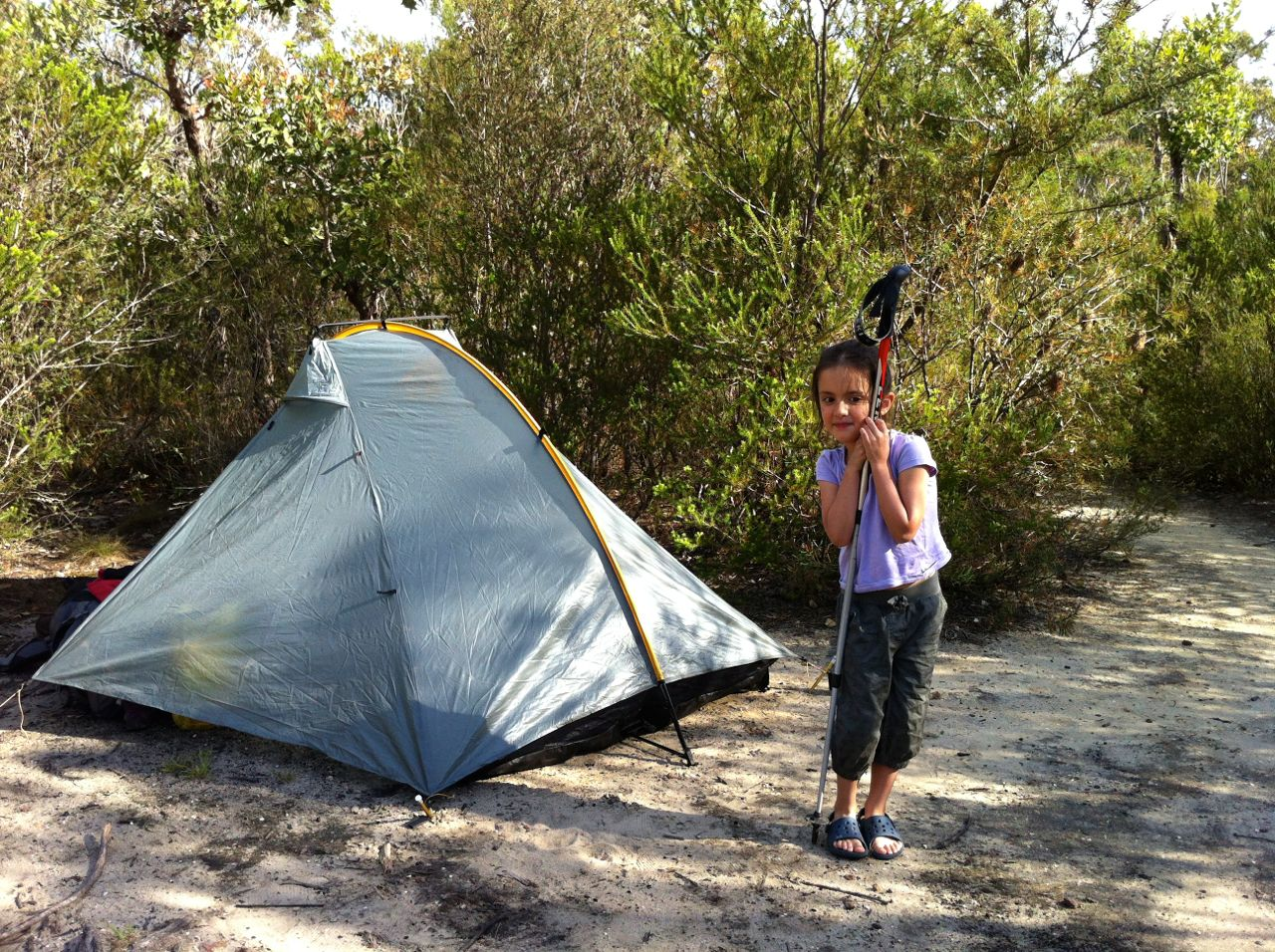 Marilla Kingfisher Pool Heathcote NP & Review: Tarptent Double Rainbow | The Life Outdoors