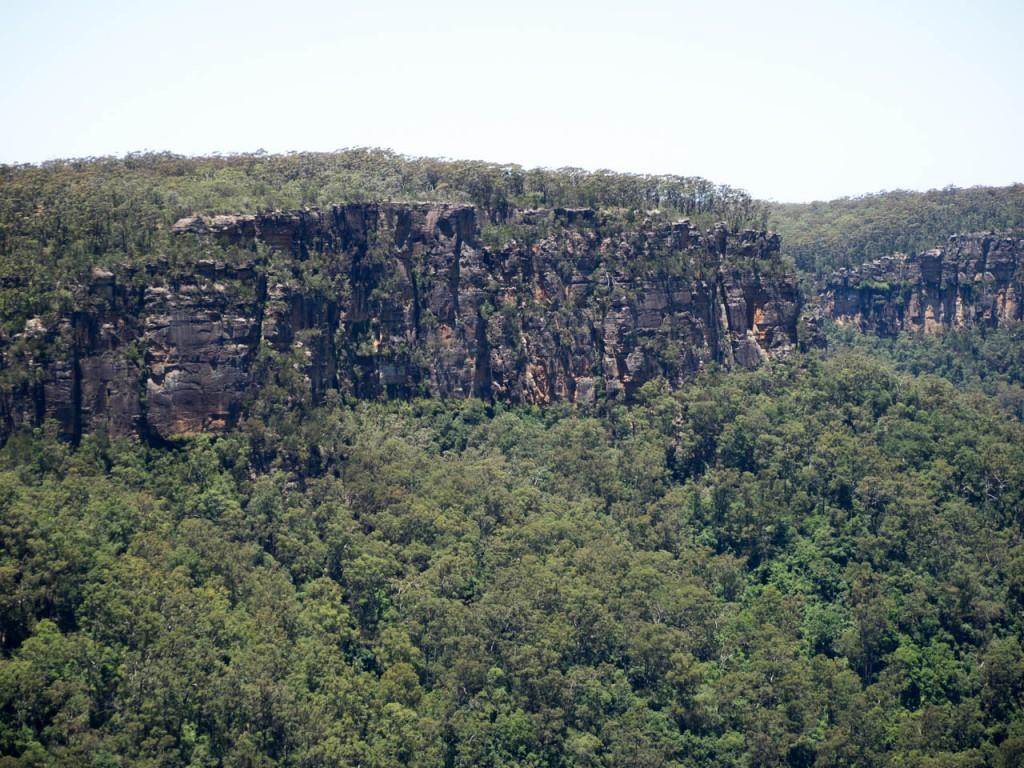View of the eastern escarpment, West Rim Walk, Fitzroy Falls, Morton NP