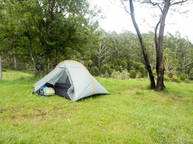 Camping, Alexanders Hut, South-East Forest National Park