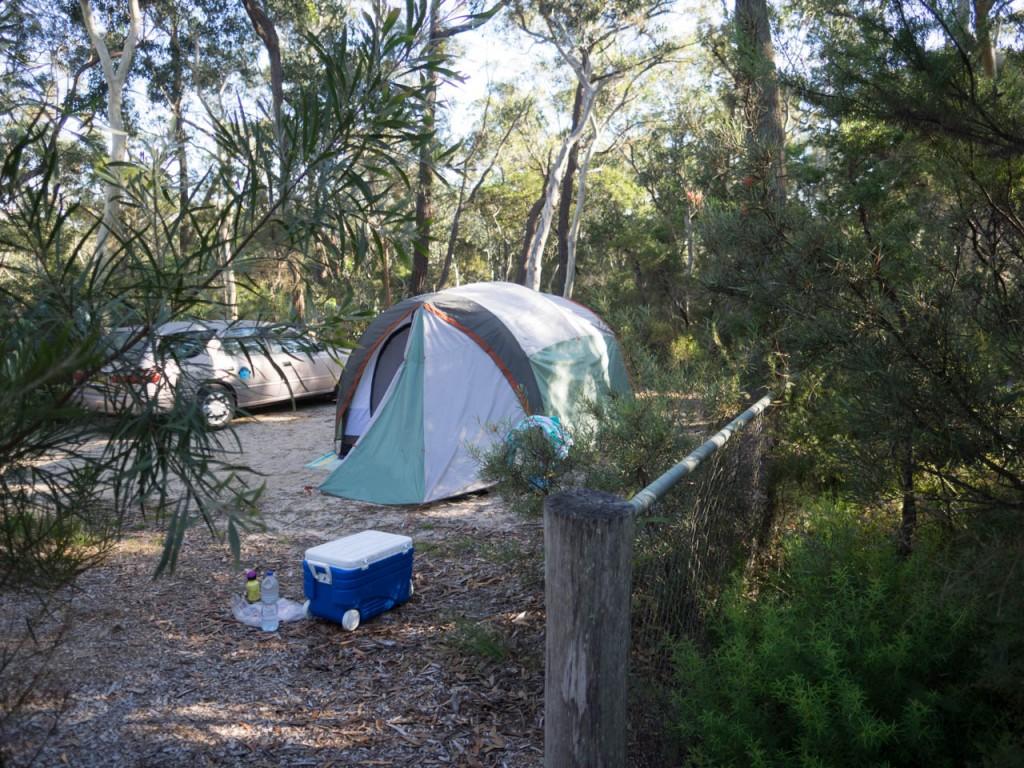 Campsite 9, Gambells Rest, Morton NP