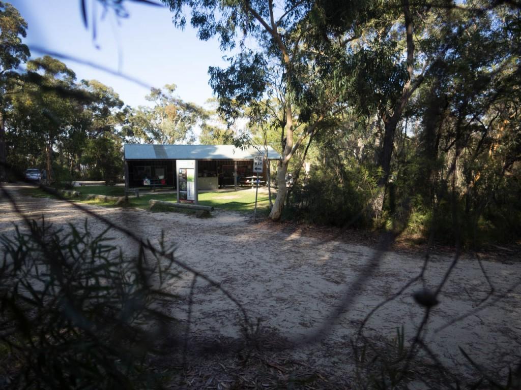 Picnic shelter, Gambells Rest, Morton NP