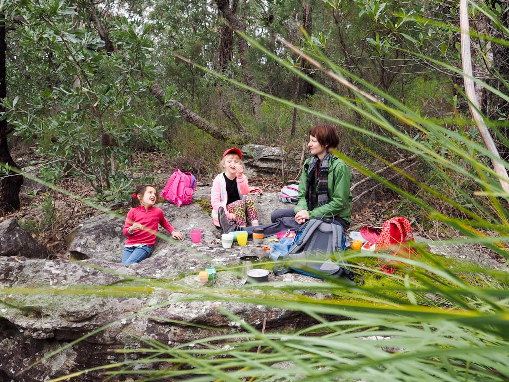 People having a picnic at Georges River NP