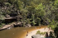 Jellybean Pool, Glenbrook, Blue Mountains National Park