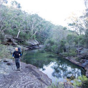 unnamed pool on Kangaroo Creek