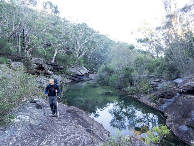 unnamed pool on Kangaroo Creek
